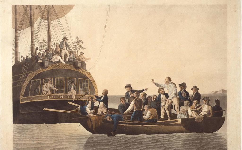 Mutiny on the HMS Bounty.