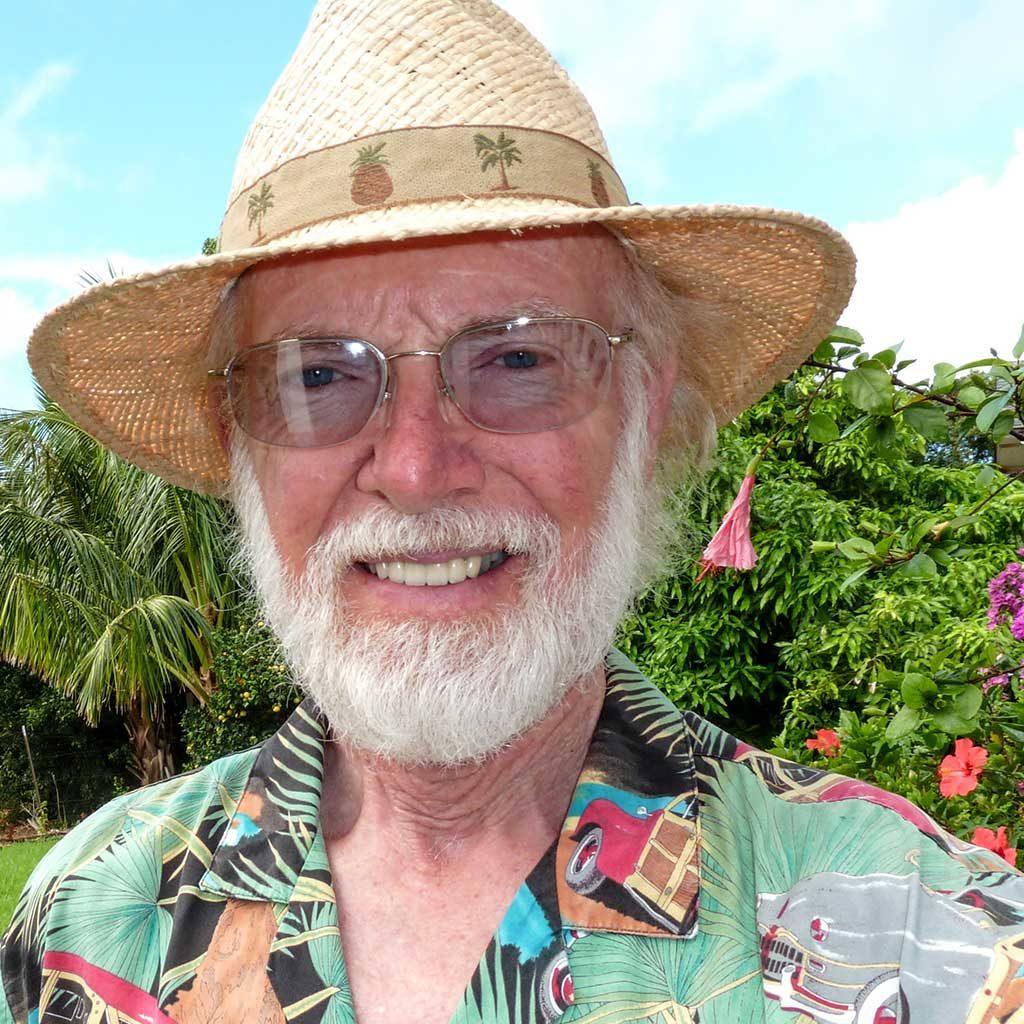 Neil, NTBG Garden Volunteer